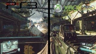 Crysis 3   PS3 vs Xbox 360   Comparacion