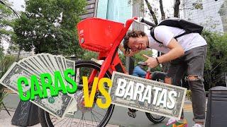 Bicicletas CARAS vs BARATAS 🚲 Creo que gasto DEMASIADO 😱💰