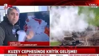 Afrin Zeytin dalı Harekatı 31  Gün KUZEY CEPHESİ ALINDI Son Durum SURİYE HARİTASI