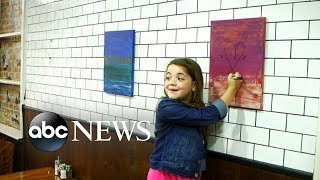 Young girl damages paintings for sale with markers l What Would You Do
