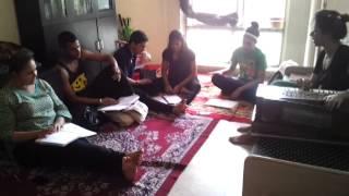 Raag Yaman Lakshan Geet naad alankaar music academy jayaa jain technojaya Forum Santosh Dev Gunjan S