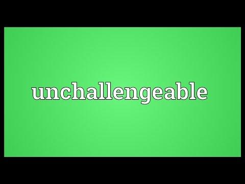 Header of unchallengeable