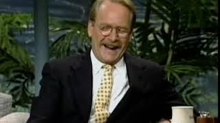 JOHNNY CARSON INTERVIEW MARTIN MULL Aug 01 1991