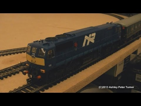 Murphy Models MM0112 GM Class 111 Diesel Locomotive 112 NIR Blue (OO Gauge) Review HD