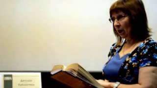Заверуха Е.В. (детская библиотека им.А.М.Береснева) читает стихотворение С.Есенина