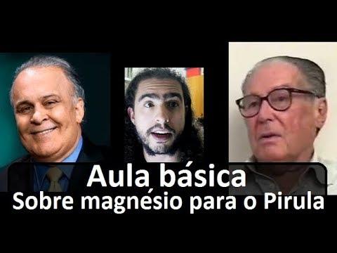 Dr Lair Ribeiro e Luiz Moura - Uma aula básica sobre magnésio para o Pirula