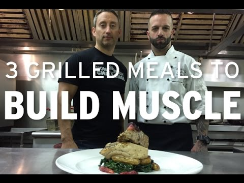 3 Grilled Meals that Build Muscle