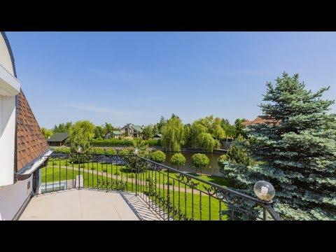 """Розкішний маєток в оренду в престижному котеджному містечку """"Дніпрова Хвиля"""""""
