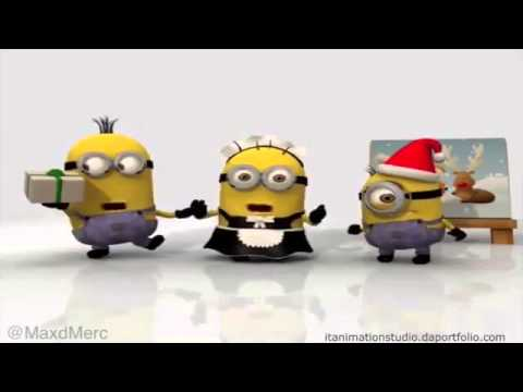 minions christmas song we wish you a merry christmas and a happy new year