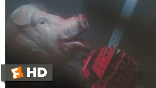 Motel Hell (9/10) Movie CLIP - Chainsaw Fight! (1980) HD
