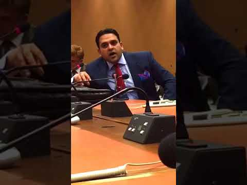 Mr. Junaid Qureshi (Director EFSAS) on human rights violations in J&K during 34th Session UNHRC