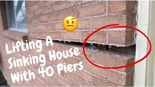 Foundation Repair On A Sinking House With 40 Push Piers MP3
