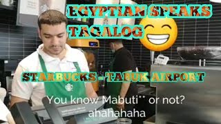 GOING TO TABUK AIRPORT, STARBUCKS NEW FLAVOR REVIEW VLOG
