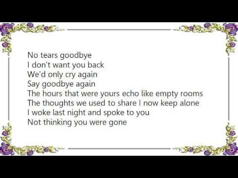 Ultravox - No Regrets Midge Ure Lyrics