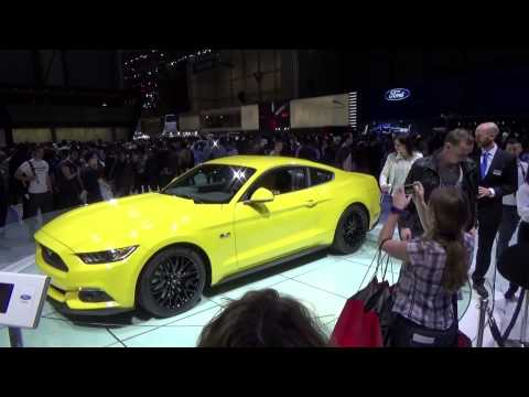 2015 FORD MUSTANG European Version @ Geneva International Motor Show 2015