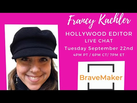Live Chat With Hollywood Editor FRANCY KACHLER