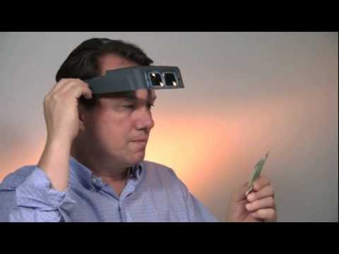 Optivisor Magnifier Hands Free Headband for Jewelers and Watchmakers