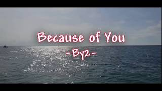 Because of you ~By2~ (LIRIK)
