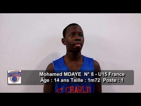 Le résumé U15 France MPBA contre Charenton (Poule Haute match aller)