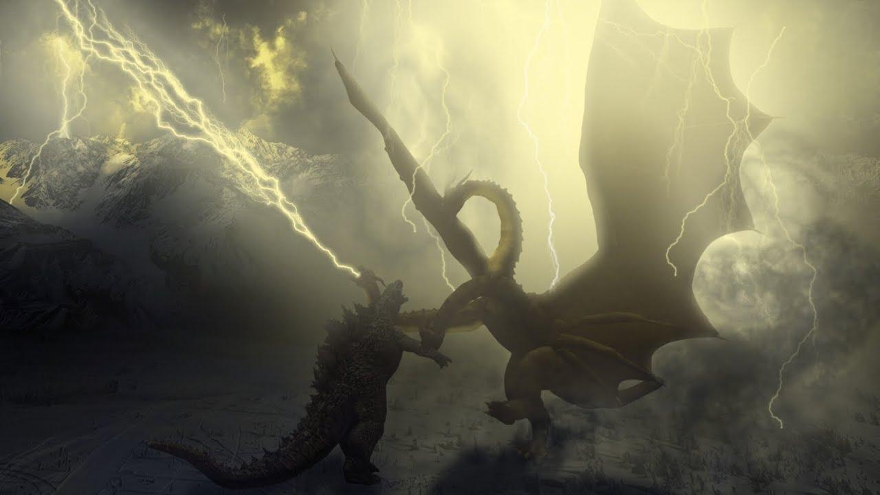 Godzilla vs King Ghidorah image breakdown