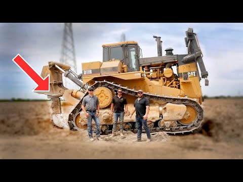 CAT D11R Dozers at Work - Deep Ripping with Fowler Brothers Farming!