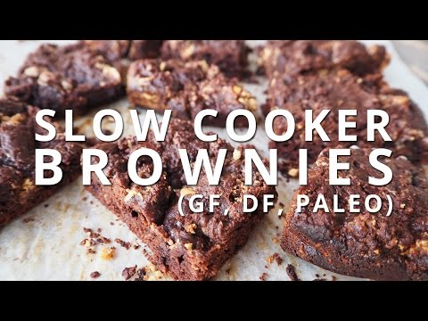 Paleo Brownies (in the Slow Cooker!)