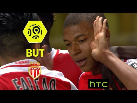 But Kylian MBAPPE (19') / AS Monaco - AS Saint-Etienne (2-0) -  / 2016-17