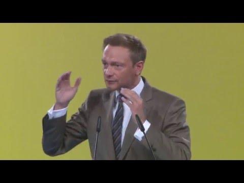 Lindner: Wir streiten für die Beta-Republik