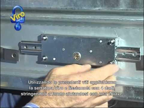 Serratura corazzata per serrande ita doovi - Proteggere basculante garage ...