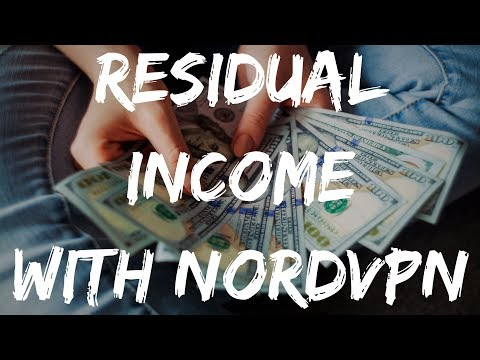 EARN RESIDUAL INCOME WITH NORDVPN AFFILIATE PROGRAM 💸 💸 💸