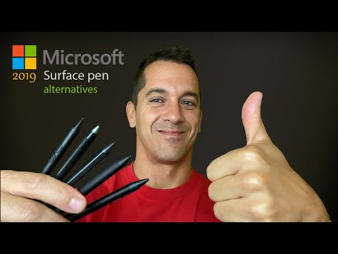 Artist review of Surface Pen Alternatives for Microsoft Surface Tablets (Pro, Book, Go, Studio)