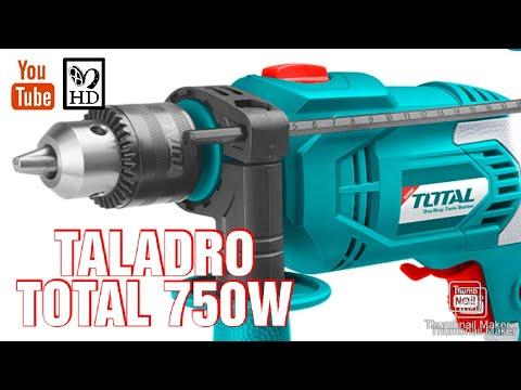 Desempaquetado Taladro Total 750 TEST UNBOXING