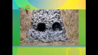 Дренаж на участке. Час у Дачи. Gubernia TV(Смотрите полезные советы дачникам на портале
