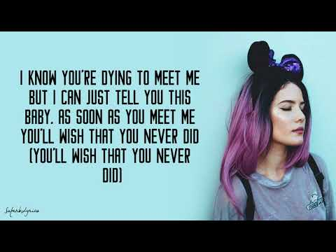 Halsey  Alone ft Big Sean, Stefflon Don Lyrics