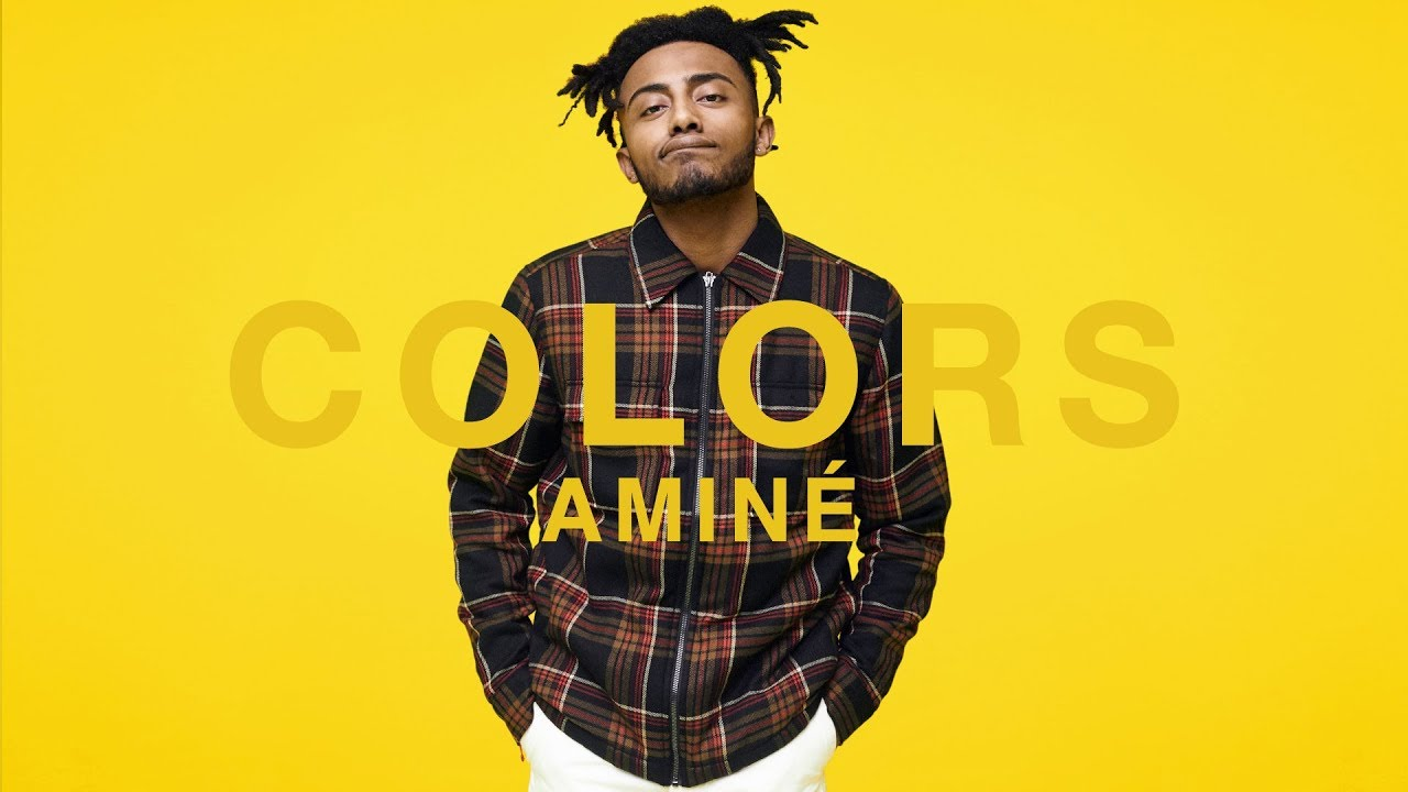 aminé yellow a colors show youtube