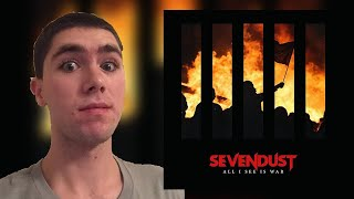 Sevendust-All I See Is War Album Review