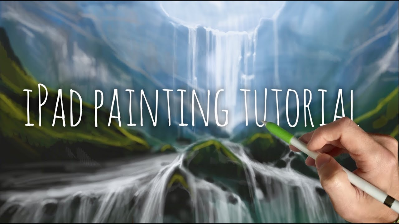 ipad painting tutorial how