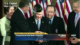 Japanese American WWII veterans receive Congressional Gold Medal