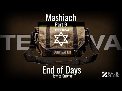 Mashiach Part 9 : Survival Kit- How To Survive The End Of Days: The Most Important Class On Mashiach