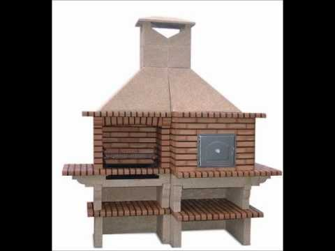 Brick Barbecue with Wood Fired Pizza Oven-Factory Prices-Stone barbecue with Oven.
