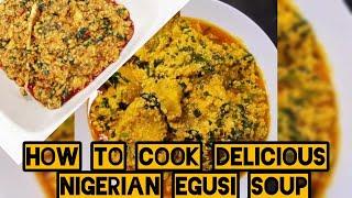 Как готовить Африканская блюда (How African egusi soup is made)