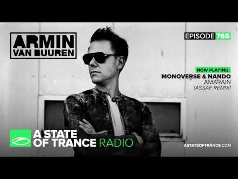 Monoverse & Nando - Amarain (Assaf Remix) ASOT A State Of Trance 766 with Armin van Buuren