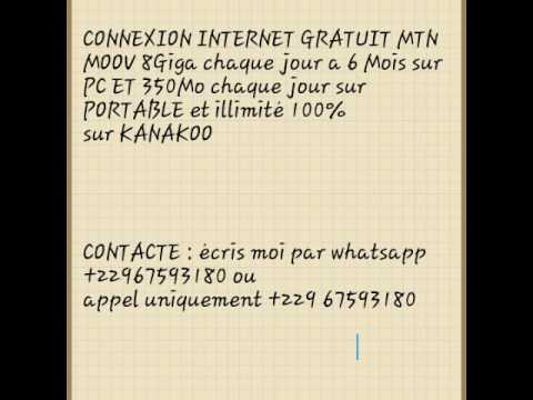 INTERNET GRATUIT FREE BENIN ET AUTRES PAYS