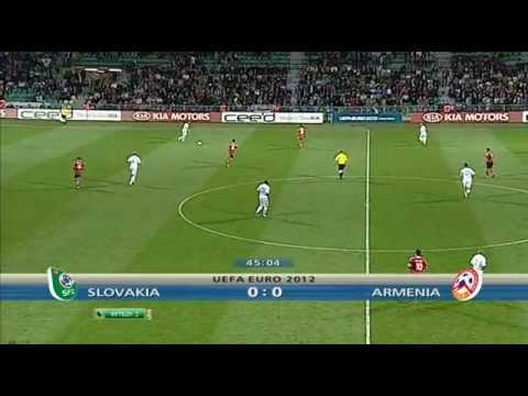 Euro2012-Slovakia-Armenia/Словакия - Армения (2 тайм)