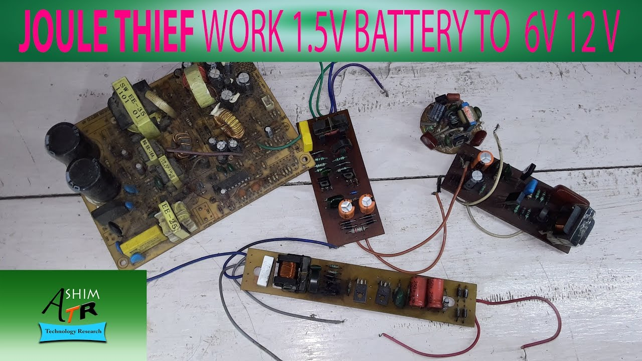 How To Make Joule Thief 2 Watt Led Driver Using A Circuit Homemade