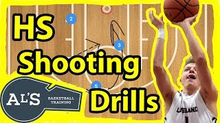 Basketball Shooting Drills For High School Basketball Tryouts