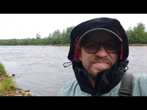 Рыбалка на спиннинг на реке Онеге, июнь 2019