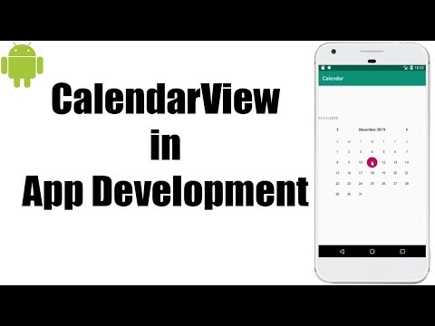 Calendar View in Android Studio | Android Tutorial for beginner | How to thumbnail