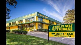 Hills Self Storage Sydney - Secure Self Storage Facility - Introduction Video