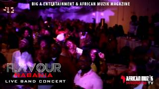 Flavour performing Baby Oku Live